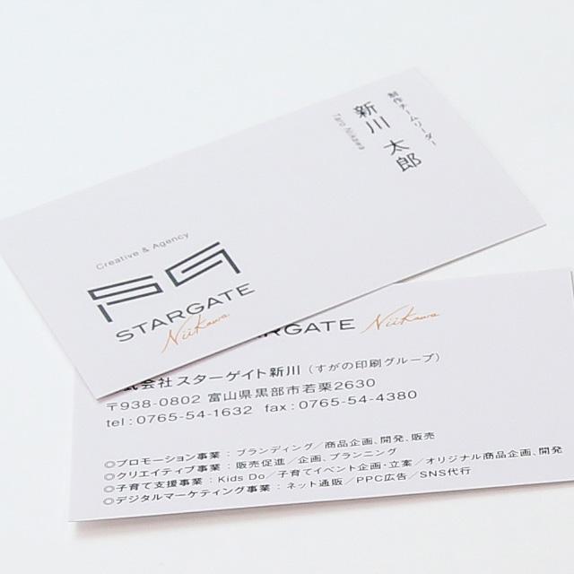 ビジネス名刺(1色・フルカラー)